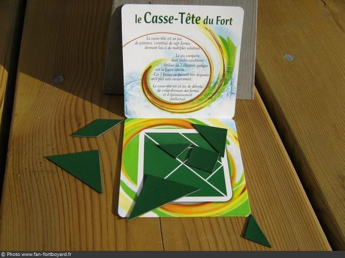 Jeu miniature - Casse-tête du Fort Boyard (2003)