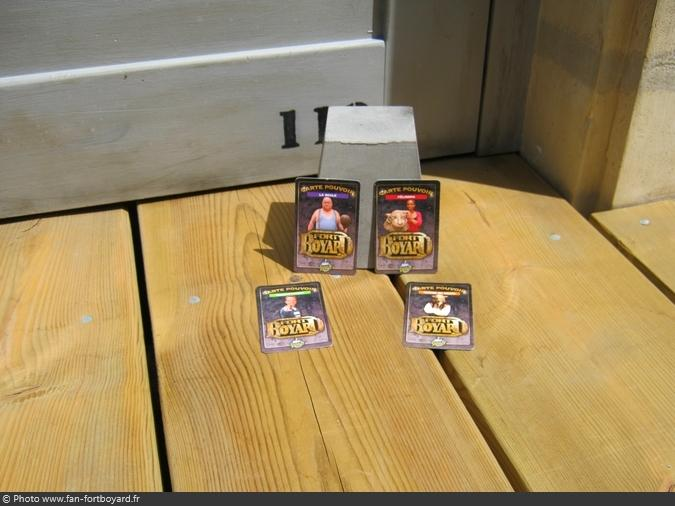 Jeu miniature - Collection Carte pouvoir Fort Boyard Prince (2012)