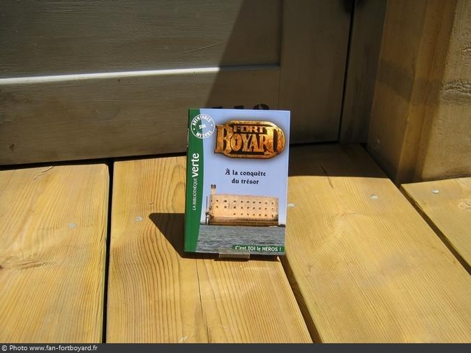 Livre-fiction - Fort Boyard, à la conquête du trésor de D. Mitrecey (2011)