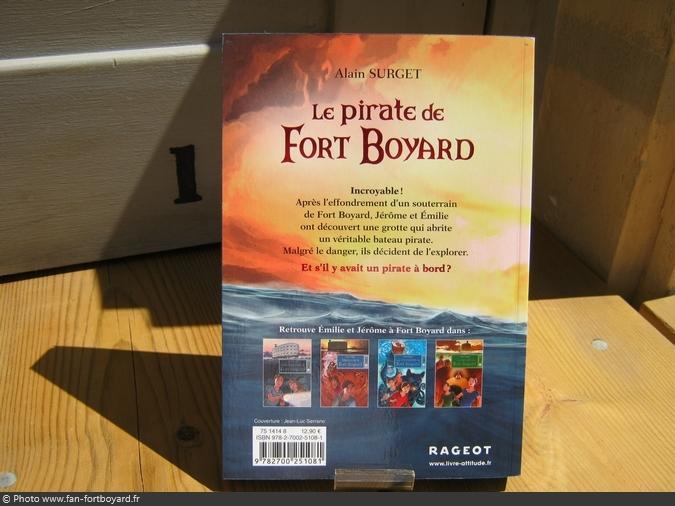 Livre-fiction - Le Pirate de Fort Boyard de A. Surget (2016)