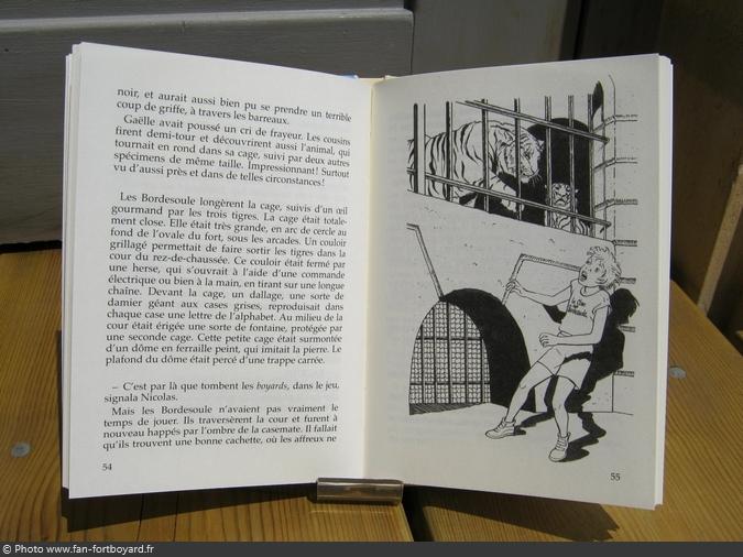 Livre-fiction - Le secret de Fort Boyard de F. Bergeron (2004)