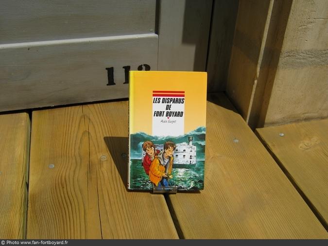 Livre-fiction - Les disparus de Fort Boyard de A. Surget (1996)