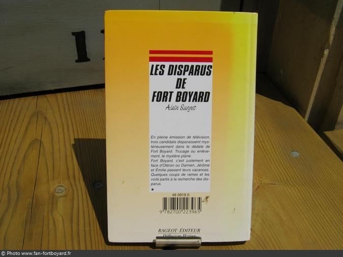 Fort boyard produits derives livre fiction les disparus de fort boyard alain surget 1996 04