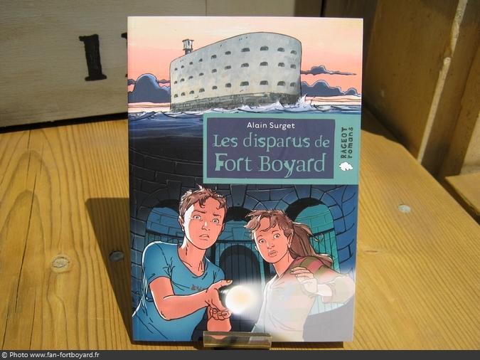 Livre-fiction - Les disparus de Fort Boyard de A. Surget (2007)