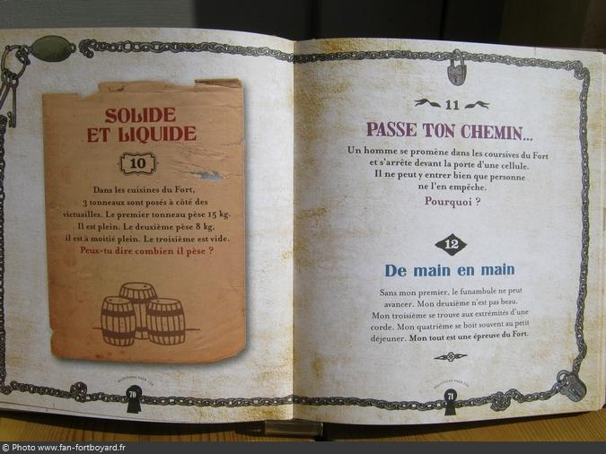 Livre-jeu - Fort Boyard, le grimoire du Père Fouras (2013)