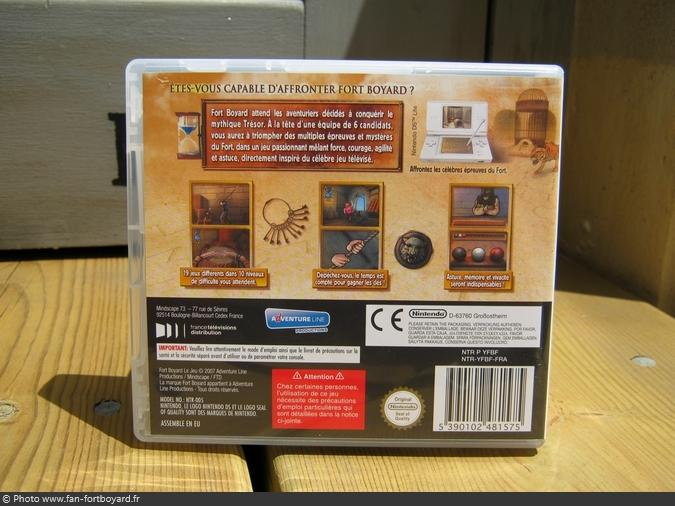 jeu nintendo ds fort boyard le jeu 2007. Black Bedroom Furniture Sets. Home Design Ideas
