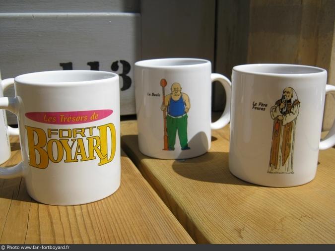 Objet - Collection Mugs Les Trésors de Fort Boyard (1999)