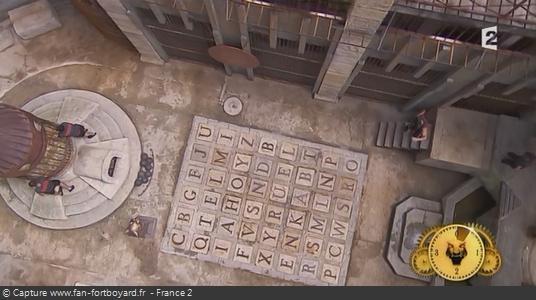 Les nouveaux murs en bois et le gong en 2014