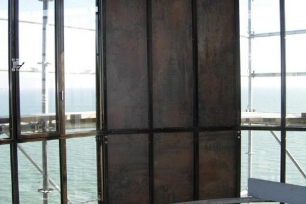 Restauration de la vigie de Fort Boyard (2011) - La nouvelle vigie
