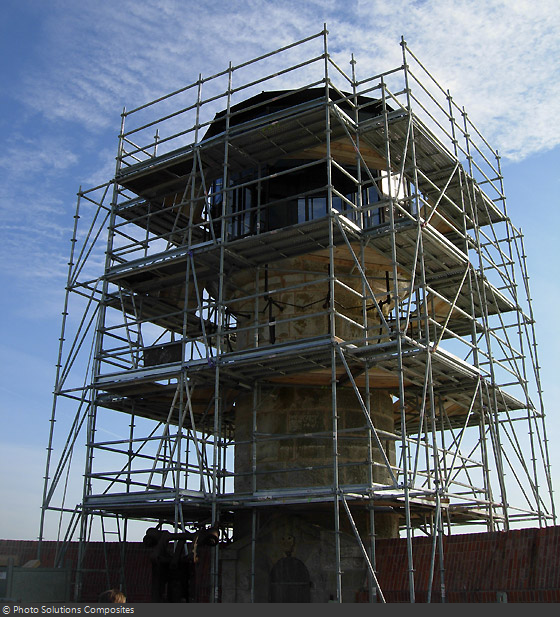 Restauration du fort et de la vigie - Du 29 août à 14 novembre 2011 - Page 8 Fortboyard-restauration-nouvelle-vigie-2011-2-1