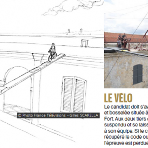 Fort Boyard 2014 : Présentation du Vélo