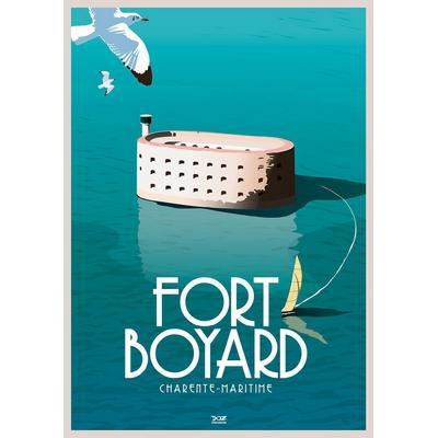 Affiche Fort Boyard - Oiseaux (DOZ)