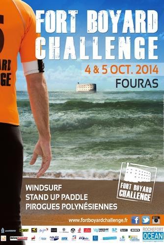 Affiche Fort Boyard Challenge 2014