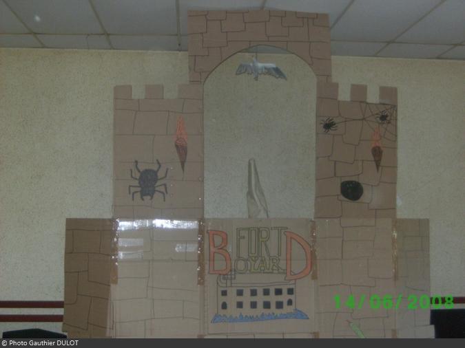 L'anniversaire Fort Boyard de Gauthier