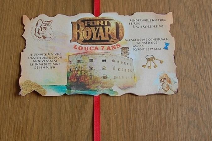 Anniversaire Fort Boyard de Louca