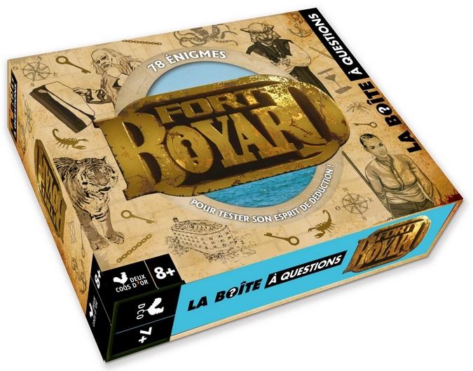 La Boîte à questions - Fort Boyard / Deux Coqs d'or