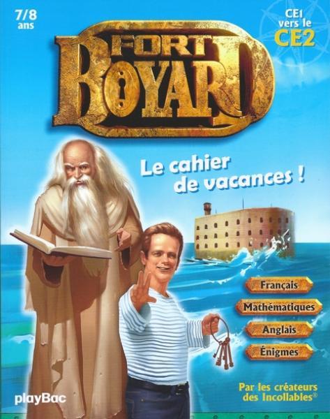 Cahier de vacances Fort Boyard - CE1 vers le CE2