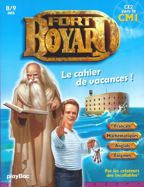livre jeu les cahiers de vacances fort boyard du cp au ce2 2017. Black Bedroom Furniture Sets. Home Design Ideas