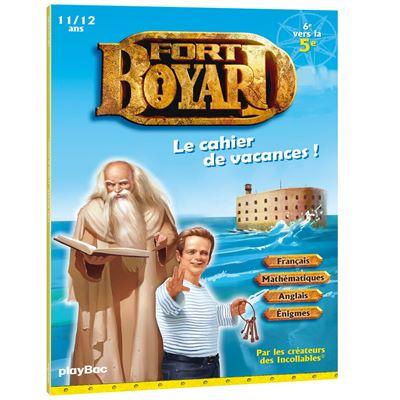 Cahier de vacances Fort Boyard - 6ème vers la 5ème