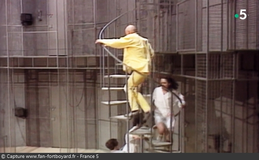 Les Maîtres des jeux télé - Fort Boyard - Image du pilote de 1989 (Vue générale du décor)