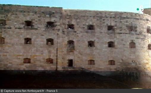Les Maîtres des jeux télé - Vue du Fort Boyard avant les travaux de 1989