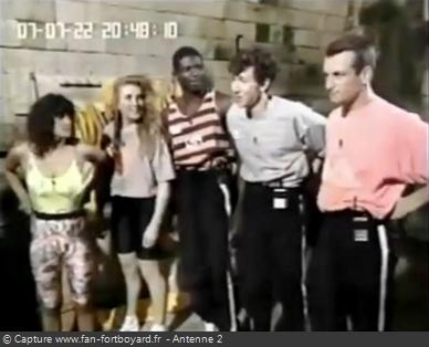 Les Clés de Fort Boyard 1990 - Équipe 1 - Dominique Montaggioni (07/07/1990)