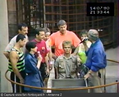 Les Clés de Fort Boyard 1990 - Équipe 2 - Karl Annette (14/07/1990)