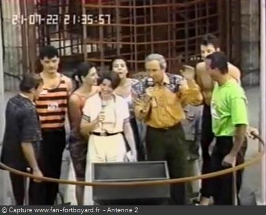 Les Clés de Fort Boyard 1990 - Équipe 3 - Didier Silvestre (21/07/1990)