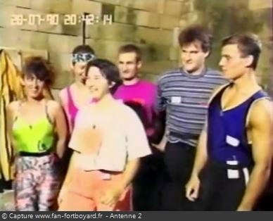 Les Clés de Fort Boyard 1990 - Équipe 4 - Nathalie Frassati (28/07/1990)