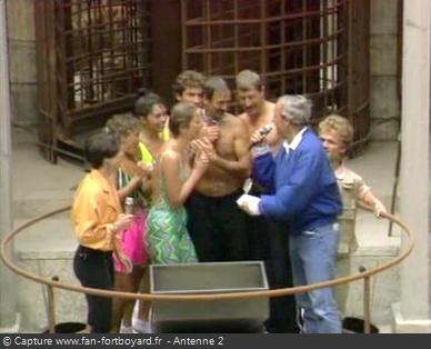 Les Clés de Fort Boyard 1990 - Équipe 8 - Daniel Le Gall (25/08/1990)