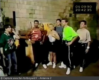 Les Clés de Fort Boyard 1990 - Équipe 9 - Jean-François Thérésin (01/09/1990)