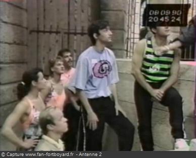 Les Clés de Fort Boyard 1990 - Équipe 10 - Raoul Vian (08/09/1990)