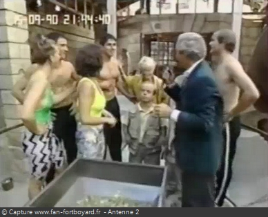 Les Clés de Fort Boyard 1990 - Équipe 11 - Didier Camberabero (15/09/1990)