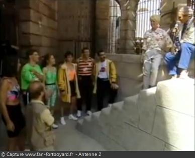 Les Clés de Fort Boyard 1990 - Équipe 13 - Eric Baptis (29/09/1990)