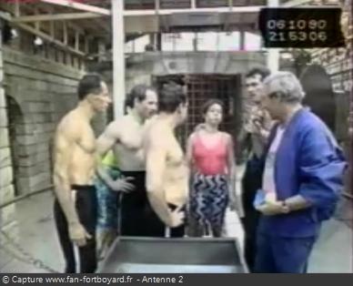 Les Clés de Fort Boyard 1990 - Équipe 14 - Jeanne-Marie Mithout (06/10/1990)