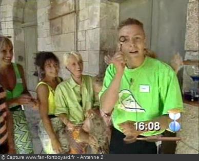 Fort Boyard 1990 - Eric Buron candidat en 1990, avant d'entrer dans l'équipe de production dès 1991