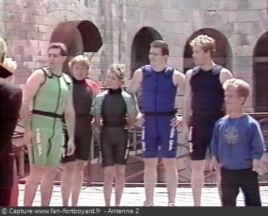 Fort Boyard 1991 - Équipe 14 - Les Choucas (27/09/1991)