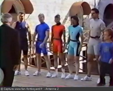 Fort Boyard 1991 - Équipe 17 - Les Sans-peur (18/10/1991)