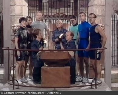 Fort Boyard 1991 - Équipe 21 - Les Polyathlètes / Nocturne (15/11/1991)