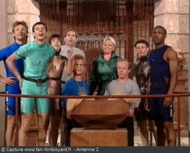 Fort Boyard 1991 - Équipe 25 - Les Submersibles / Nocturne (20/12/1991)