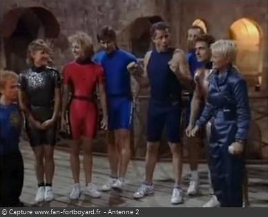 Fort Boyard 1991 - Équipe 27 - Les Fort Trouillards : Spéciale Animateurs / Nocturne (03/01/1992)