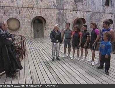 Fort Boyard 1991 : Présentation de l'équipe