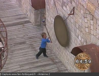 Fort Boyard 1991 : Passe-Partout sonne le gong