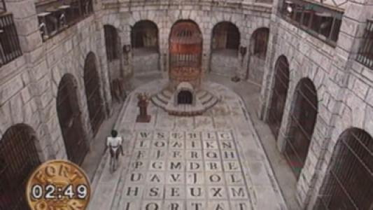Fort Boyard 1991 : La Salle du Trésor et la Fontaine à Boyards