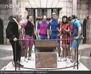 Fort Boyard 1992 - Équipe 2 - Les Rapetous (17/07/1992)