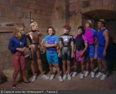 Fort Boyard 1992 - Équipe 10 - Les Sportifs (14/09/1992)