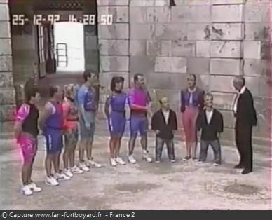 Fort Boyard 1992 - Équipe 16 - Les Lionceaux (25/12/1992)