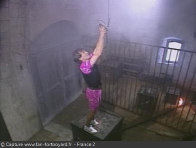 Fort Boyard 1992 : La nouvelle épreuve du Baril de poudre