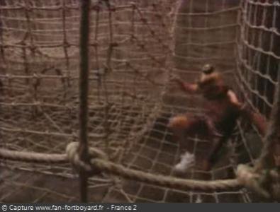 Fort Boyard 1992 : La nouvelle épreuve de l'Antre filet