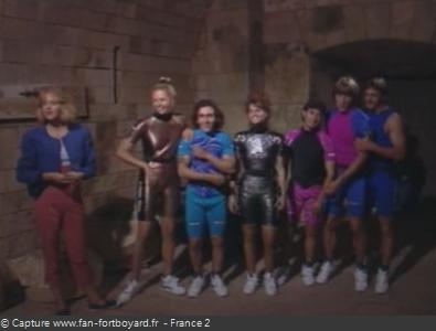 Fort Boyard 1992 : Présentation de l'équipe